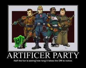 Artificer party