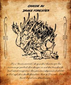 Drake forestier
